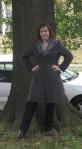 faux fur collarcoat